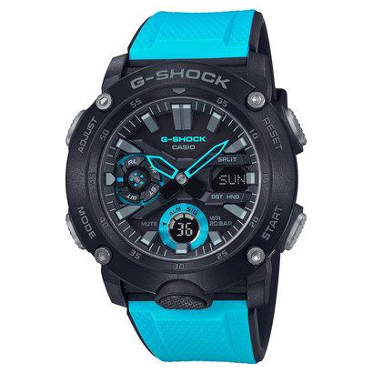 【G-SHOCK】カーボンコアガード / GA-2000-1A2JF (ブラック×ブルー)