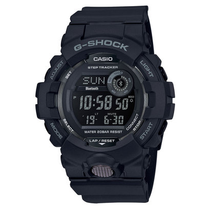【G-SHOCK】G-SQUAD(ジー・スクワッド) / GBD-800-1BJF (ブラック)