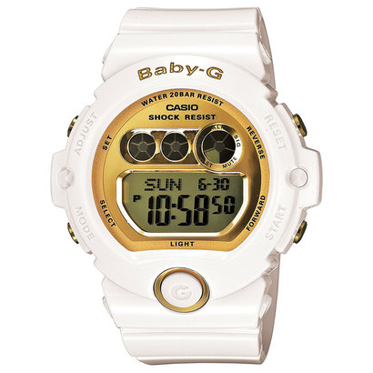 【BABY-G】BG-6900シリーズ / BG-6901-7JF (ホワイト×ゴールド)