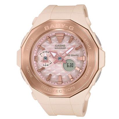 【BABY-G】Pink Beige Colors(ピンク・ベージュ・カラーズ) / BGA-225CP-4AJF (ピンクベージュ)