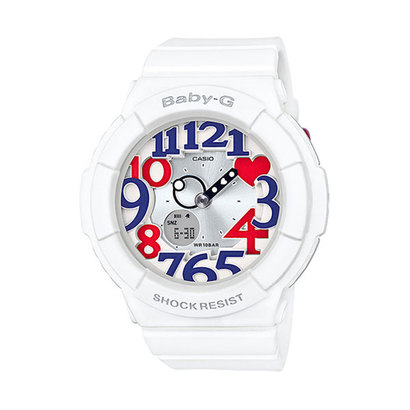 【BABY-G】White Tricolor Series(ホワイト・トリコロール・シリーズ) / BGA-130TR-7BJF (トリコロール)