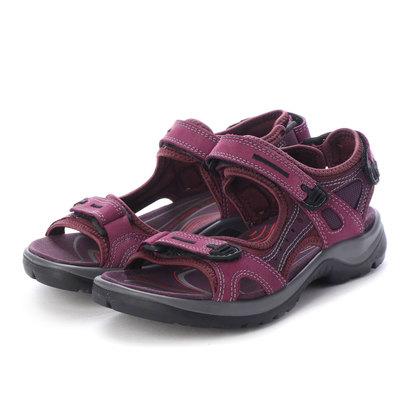 エコー ECCO Womens OFFROAD Sandal (AUBERGINE/MAUVE)