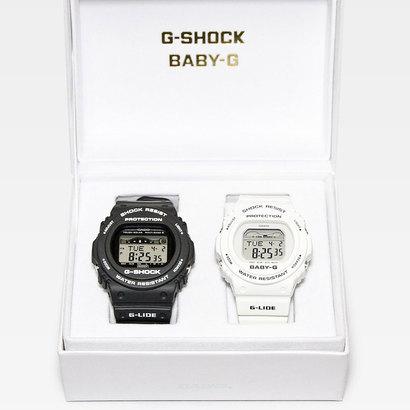 【G-SHOCK&BABY-G】G-LIDE(Gライド) ペアモデル / GWX-5700CS-1JF x BLX-570-7JF (ブラック×ホワイト)