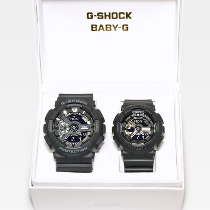 【G-SHOCK&BABY-G】ペアモデル GA-110-1BJF × BA-110BC-1AJF (ブラック)
