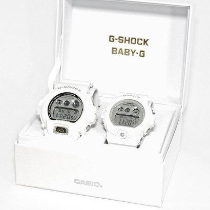 【G-SHOCK&BABY-G】Pair Model / DW-6900MR-7JF × BG-6900-7JF (ホワイト×シルバー)