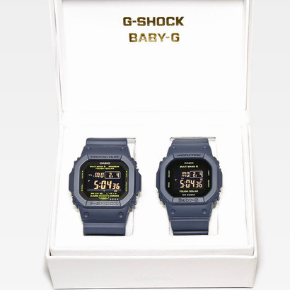 【G-SHOCK&BABY-G】Pair Model / GW-M5610NV-2JF × BGD-5000-2JF / 電波ソーラー (ネイビー)