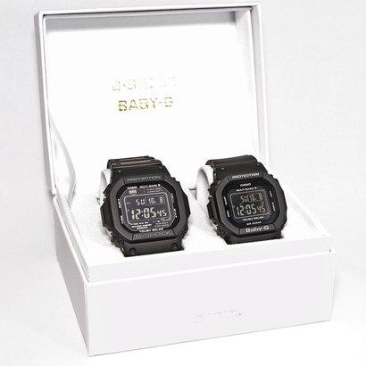 【G-SHOCK&BABY-G】Pair Model / 電波ソーラー GW-M5610-1BJF × BGD-5000MD-1JF (ブラック)