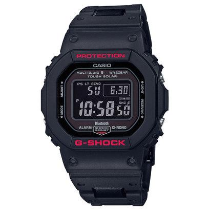 【G-SHOCK】スマートフォンリンク / コンポジットバンド / GW-B5600HR-1JF (ブラック×レッド)