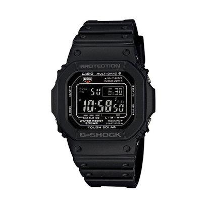 【G-SHOCK】スクエアデザイン / 電波ソーラー / GW-M5610-1BJF (ブラック)
