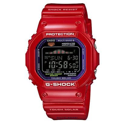 【G-SHOCK】G-LIDE(Gライド) / GWX-5600C-4JF / 電波ソーラー (レッド)