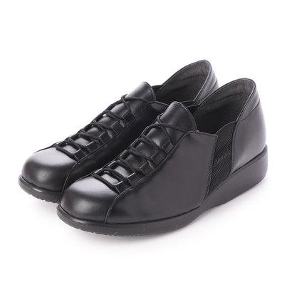 ヒラリ HIRARI 本革 婦人靴 (ブラック)