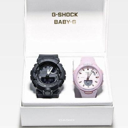 【G-SHOCK&BABY-G】G-SQUAD(ジー・スクワッド) / GBA-800-1AJF × BSA-B100-4A2JF (ブラック×ラベンダー)