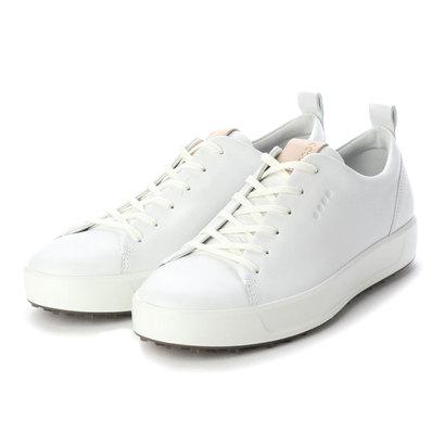 エコー ECCO M GOLF SOFT Golf Shoe (BRIGHT WHITE)