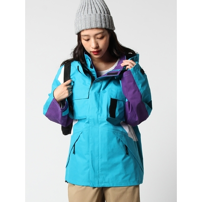 【アウトレット】X-girl 3LAYERMOUNTAINPARKA LtGREEN