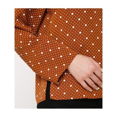 SLY GRIDドットシャツ M ネイビーrsthQdC