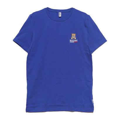 モスキーノ アンダーウェア Moschino Underwear T-SHIRT (BLUE)
