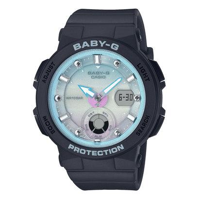 【BABY-G】Beach Traveler Series (ビーチ・トラベラー・シリーズ) / BGA-250-1A2JF (ブラック×ブルー)
