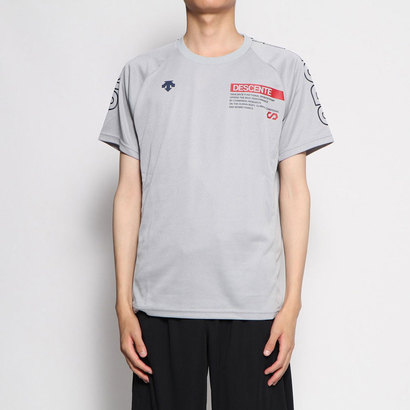 あす楽 交換 お得セット ショッピング 返品可能 デサント DESCENTE バレーボール ロコンド DVUOJA52 半袖Tシャツ バレーボールウェア ハンソデプラクテイスシヤツ