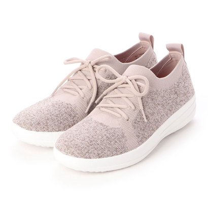 フィットフロップ fitflop F-SPORTY UBERKNIT SNEAKERS - METALLIC WEAVE (Metallic Mink)