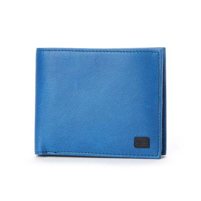 ダコタブラックレーベル Dakota BLACK LABEL 【MORITA & Co.】 ワキシー 2つ折り財布 (ブルー)