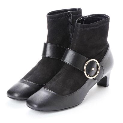 【アウトレット】ストロベリーフィールズ STRAWBERRY FIELDS ブーツ (ブラックコンビ)