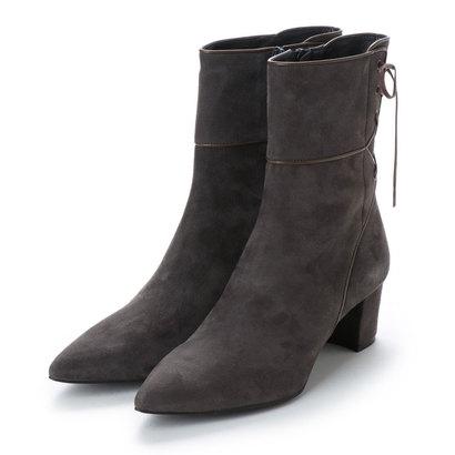 【アウトレット】アンタイトル シューズ UNTITLED shoes ショートブーツ (グレースエードコンビ)