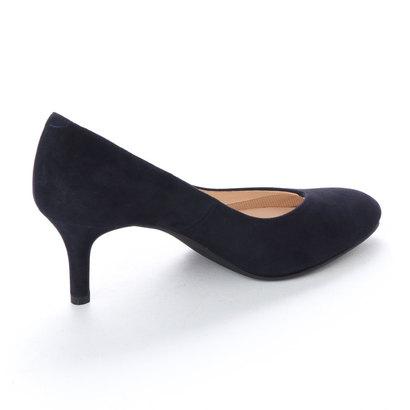 アウトレット アンタイトル シューズ UNTITLED shoes パンプスダークネイビースエード34jARL5