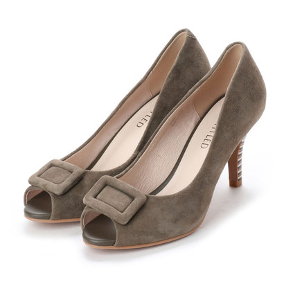【アウトレット】アンタイトル シューズ UNTITLED shoes パンプス (カーキスエード)