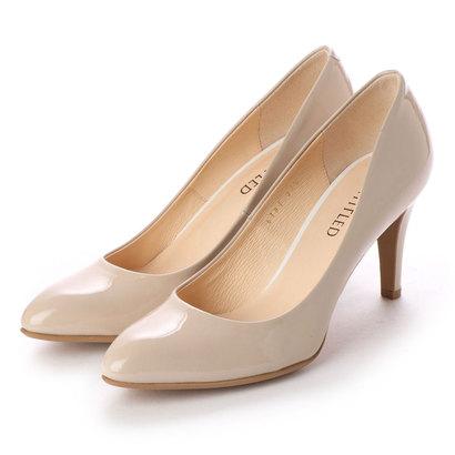 【アウトレット】アンタイトル シューズ UNTITLED shoes パンプス (ヌードベージュエナメル)