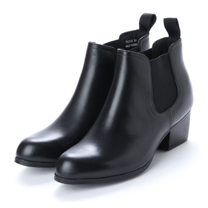 【ネット限定商品】ピッティ Pitti サイドゴアショートレインブーツ (ブラック)