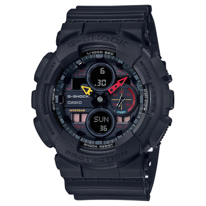 【G-SHOCK】Black × Neon / GA-140BMC-1AJF (ブラック)