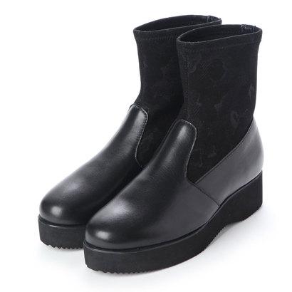 【アウトレット】ヒップス HIPS ストレッチブーツ (ブラック)