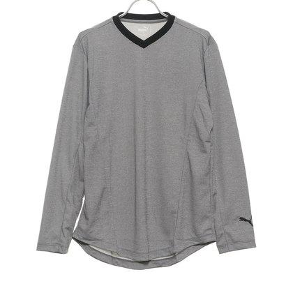 プーマ PUMA メンズ ゴルフ 長袖シャツ ゴルフ LS Vネック ティーシャツ 923958
