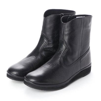 【アウトレット】ヒップス HIPS ショートブーツ (ブラック)