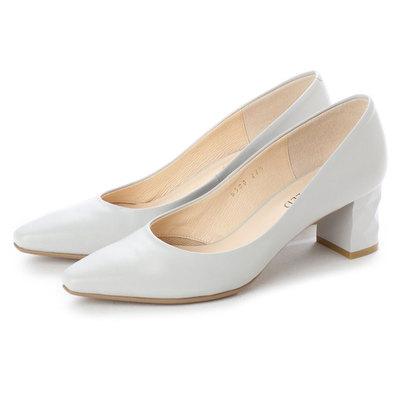 【アウトレット】アンタイトル シューズ UNTITLED shoes パンプス (ライトグレー)