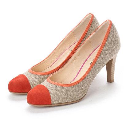 【アウトレット】アンタイトル シューズ UNTITLED shoes パンプス (オレンジスエード)