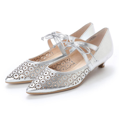 【アウトレット】アンタイトル シューズ UNTITLED shoes パンプス (シルバー)