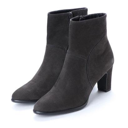 【アウトレット】アンタイトル シューズ UNTITLED shoes ショートブーツ (ダークグレーヌバック)