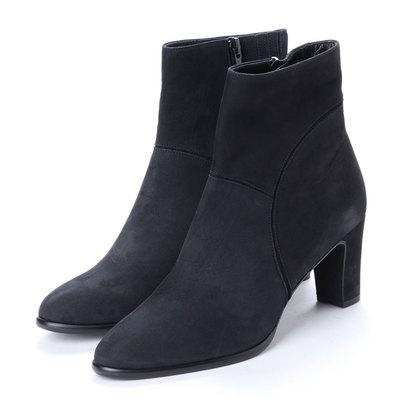 【アウトレット】アンタイトル シューズ UNTITLED shoes ショートブーツ (ダークネイビーヌバック)
