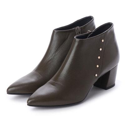 【アウトレット】アンタイトル シューズ UNTITLED shoes ブーティ (ダークオークベルベット)