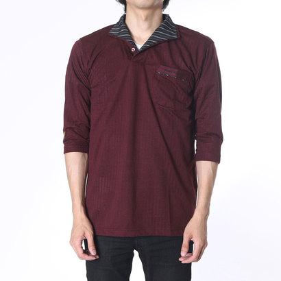 フランコ コレツィオーニ FRANCO COLLEZIONI 二重変化衿七分袖ドレスポロシャツ3枚組 (マルチカラー)