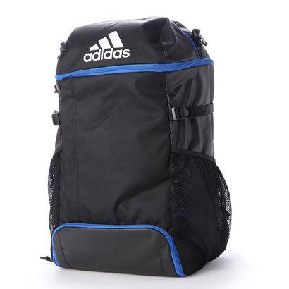 あす楽 全国どこでも送料無料 交換 返品可能 アディダス adidas メンズバッグ リュック 黒色×青色 ボール用デイパック サッカー ADP31BKB ロコンド バックパック 大人気! フットサル