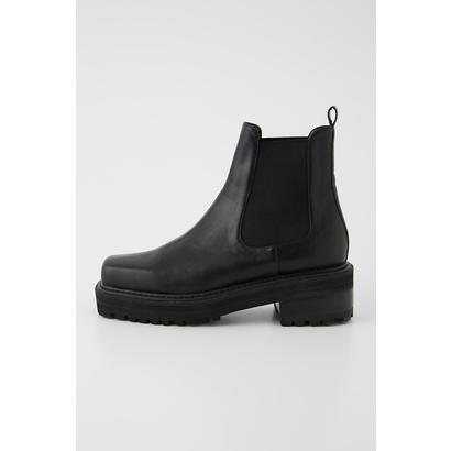 スライ SLY SQUARE TOE BOOTS (ブラック)