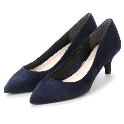 【アウトレット】アンタイトル シューズ UNTITLED shoes パンプス UT4101 (ネイビースエード)