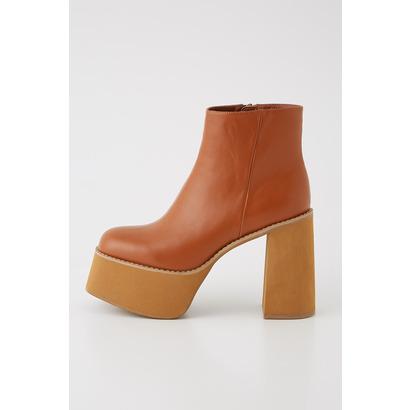 スライ SLY CHUNK SOLE BOOTS (キャメル)
