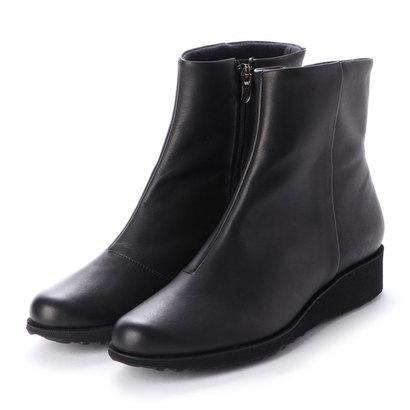 モード エ ジャコモ ディッシィ MODE ET JACOMO DICI ウェッジソールシンプルショートブーツ (ブラック)