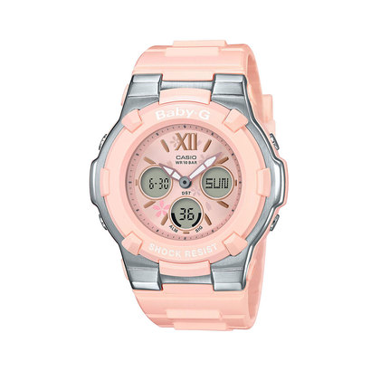 【BABY-G】Blooming Pastel Colors / BGA-110BL-4BJF (ピンク×シルバー)