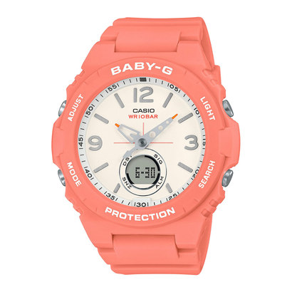 【BABY-G】BGA-260シリーズ / BGA-260-4AJF (ピンク)