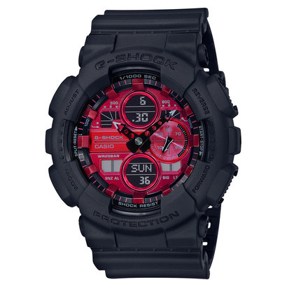【G-SHOCK】Black and Red Series / GA-140AR-1AJF (ブラック×レッド)