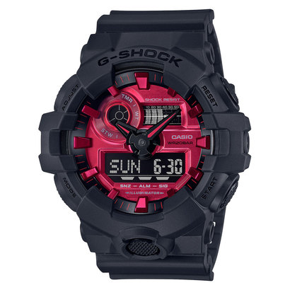 【G-SHOCK】 Black and Red Series / GA-700AR-1AJF (ブラック×レッド)